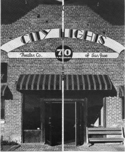 City Lights Theater Company, 1980's