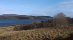 Early spring in the Highlands; the view from Cnoc na Cuaiche, The Hirsel.